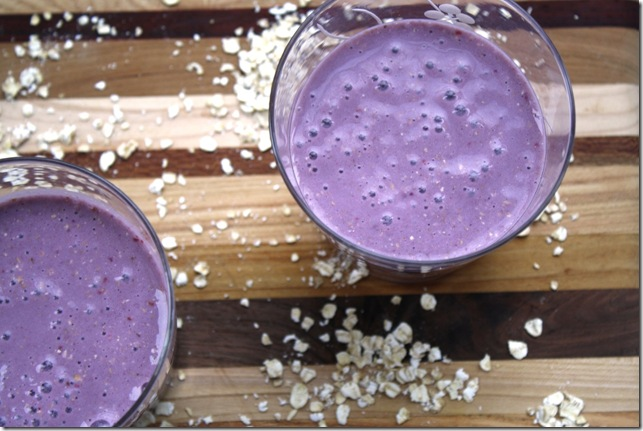 Oatmeal smoothie3